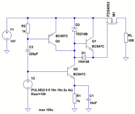 mosfet pull resistor calculator mosfet driver push pull bjt output page 1
