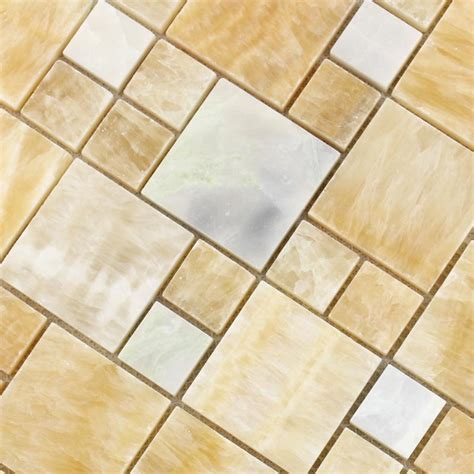 wholesale grey with white mosaic tile sheet