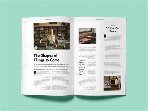 cofune magazine 40 pages indesign template by danibernd