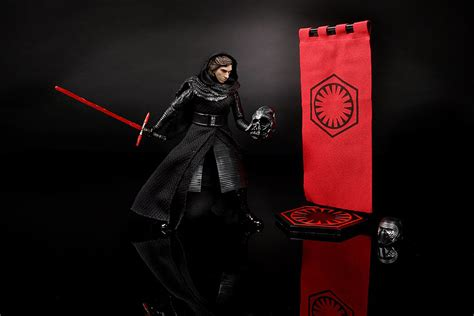 Wars Black Series Kylo Ren Unmasked The Last Jedi Not Shf obi wan and kylo ren are wars black series 2016 convention exclusives