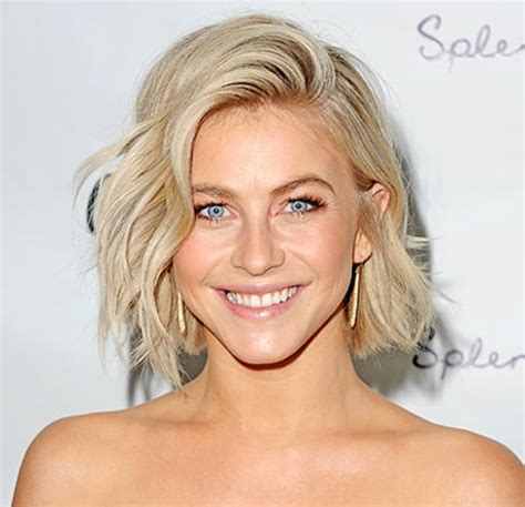 what kind of hairstyle does julienne huff have in safe haven julianne hough s post engagement haircut details us weekly