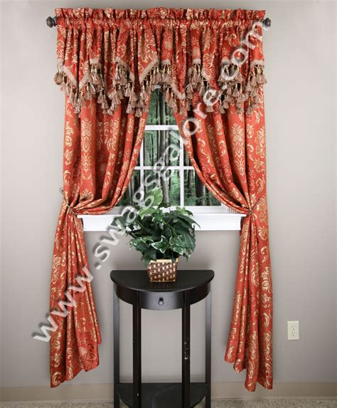 luxury home textiles curtains tiffany jacquard panel burgundy luxury home textiles