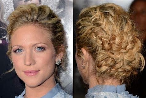 intricate prom hair brittany snow s intricate braids the prettiest celeb