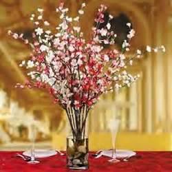 Cherry Blossom Arrangements by Decor Wedding Ideas Cherries Blossoms Centerpieces