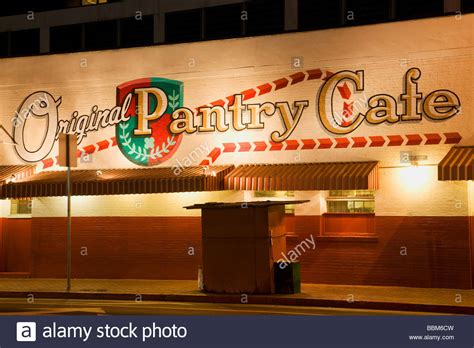 Pantry Downtown La by The Original Pantry Cafe Downtown Los Angeles California Stock Photo Royalty Free Image
