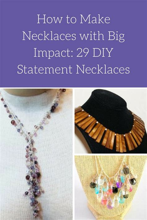 how to make statement jewelry 91 best images about diy statement necklace on