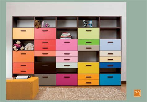 librerie colorate per camerette librerie per la cameretta e per il soggiorno