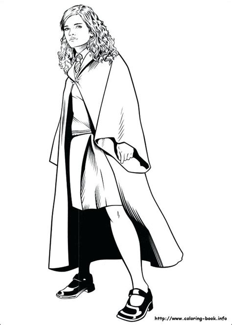 Hermione Granger Coloring Pages by Hermione Granger Coloring Pages At Getcolorings Free