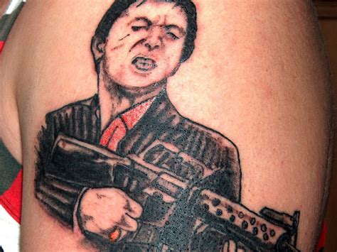 scarface tattoo designs 25 rad gangster ideas