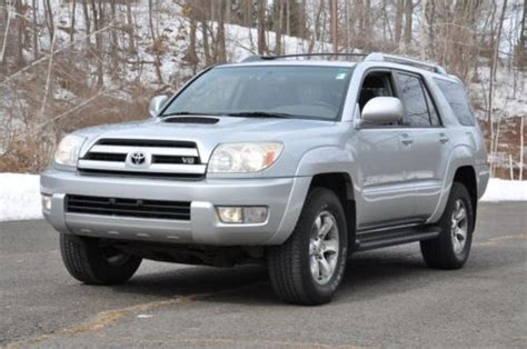 how do cars engines work 2003 toyota 4runner transmission control sell used 2003 toyota 4runner 4x4 sport eddition no reserve clean carfax v 8 engine in norwalk