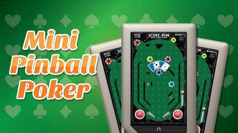 mini pinball poker fun pinball game   casino theme video gamecrycom