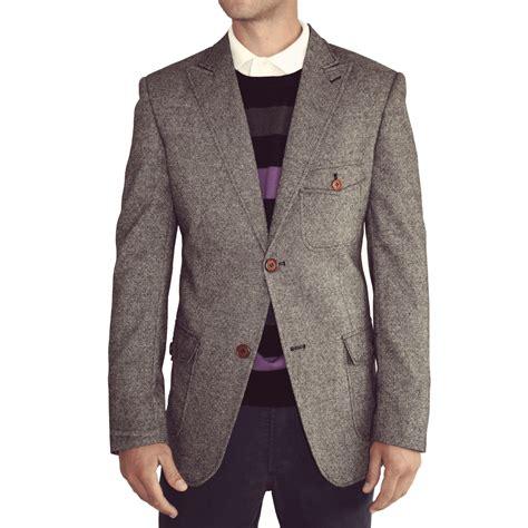 grey blazer grey classic tweed blazer for sale from victor valentine