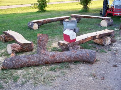 Is It To Burn Wood In Backyard by Rustic Log Benches For Sale Literature Furniture