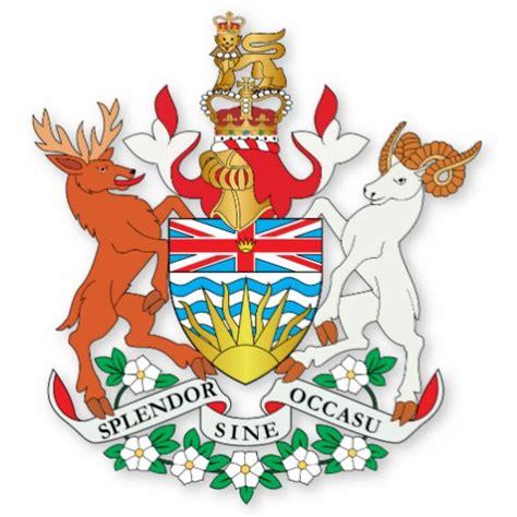 Room Desk Ideas British Columbia Coat Of Arms Cut Outs Zazzle