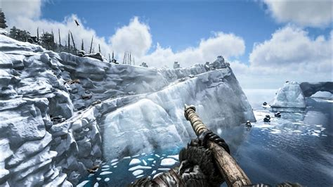 ark survival evolved patch  snow  swamp biome