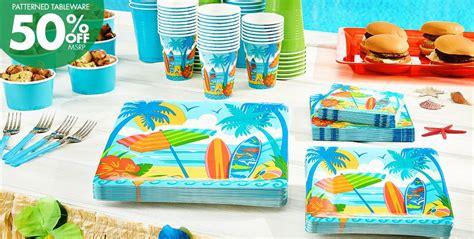 beach themed party kit sun surf beach supplies beach themed party party city