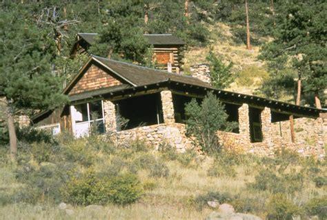 White Cabin by William Allen White Cabin Rocky Mountain National Park