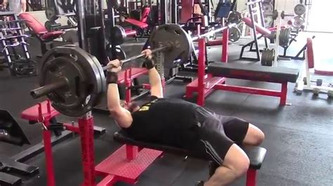 bench press without spotter jason blaha teaches you how to bench press heavy safely