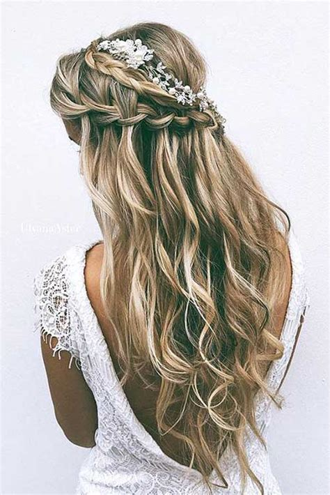 Bridal Hair Half Up Side by 25 Half Updo Styles For Weddings Hairstyles