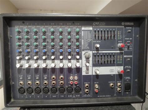 Power Mixer Yamaha 12 Channel yamaha emx212s 12 channel powered mixer crate pe15 speakers orleans ottawa