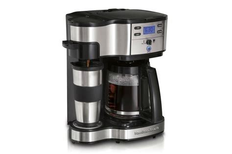 Hamilton Beach Single Serve 49980A Coffee Brewer and Coffee Maker Full Pot Review   One Single Cup