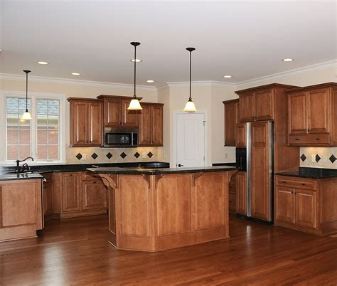 kitchen with wood floors types of flooring calgary edmonton toronto deer