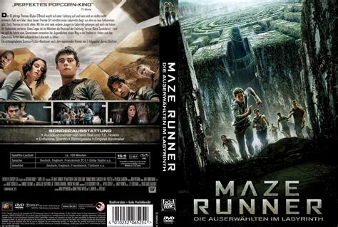 film maze runner dvd maze runner die auserw 228 hlten im labyrinth dvd cover