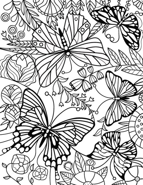 coloring pages for adults advanced advanced coloring pages for adults printable erfly