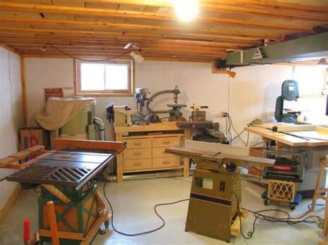 Garage Workbench Design my basement workshop 2009