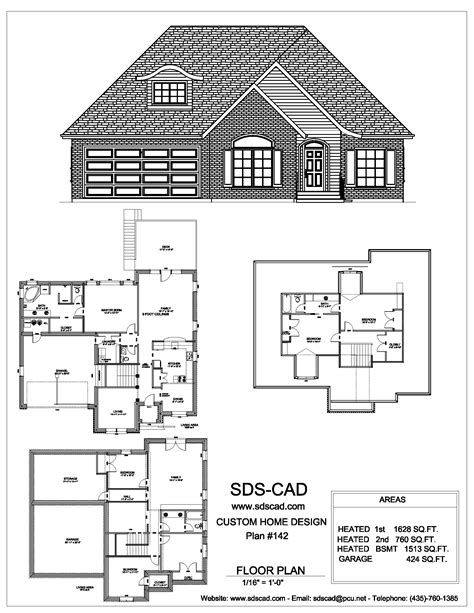 house blueprints sdscad house plans 91 sds plans