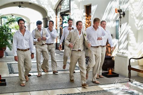 Wedding Attire For Of The Groom by Groom Attire For Your Cabo Wedding
