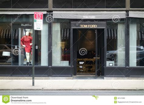 tom ford store nyc tom ford store editorial stock image image of york