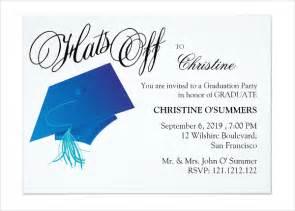 39 printable graduation invitations free premium templates