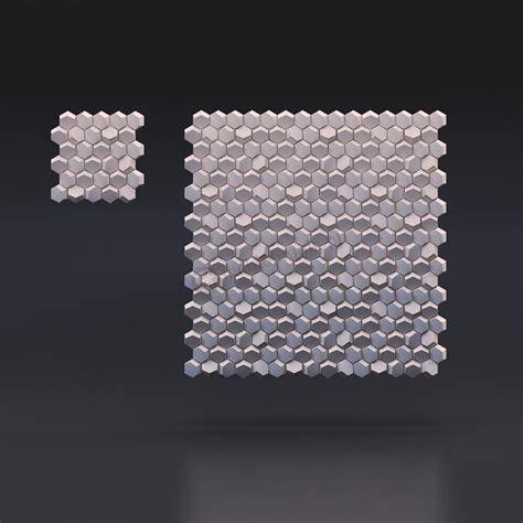 design zd zd design hexago gipsowe panele dekoracyjne 3d na ścianę