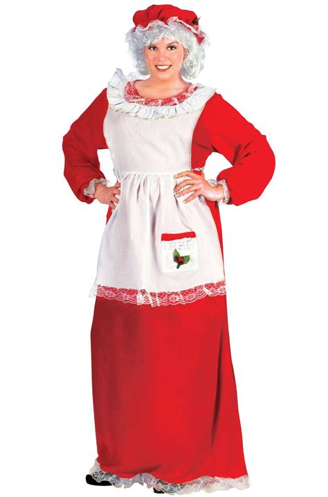 mrs santa claus plus size halloween costume ebay