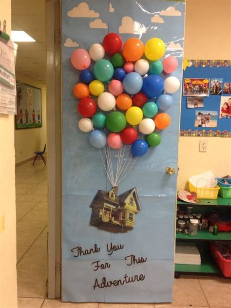 pixar classroom door up disney pixar classroom door decoration pta classroom door decorations