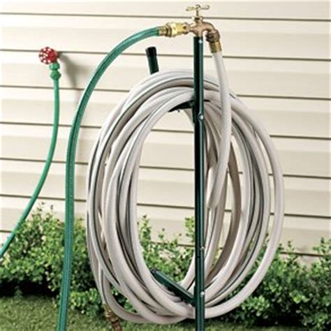 Outside Faucet Extender by Hose Stand W Spigot Brass Faucet Extender 6 Foot Hose Included Outdoor Faucets