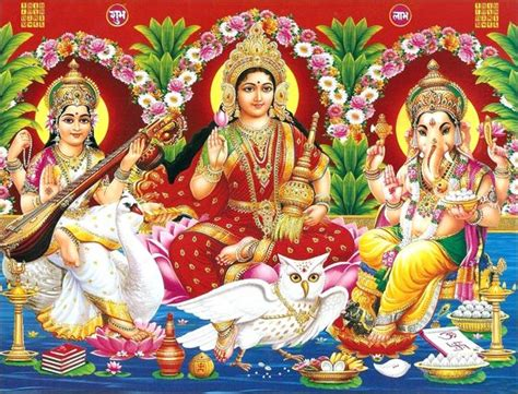 god laxmi themes download laxmi ganesh saraswati wallpaper hd full size download