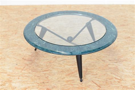 Marble Glass Coffee Table Vintage Marble Glass Coffee Table For Sale At Pamono