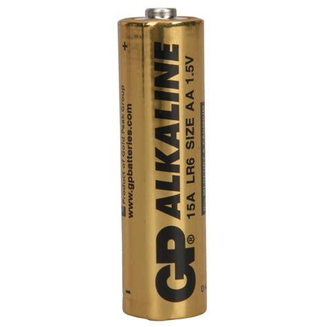 Batu Baterai Senter gp alkaline batu baterai aa 1pcs golden