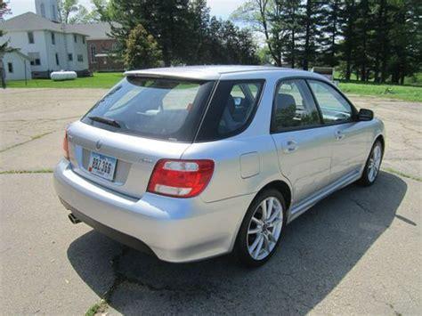 buy used 2005 saab 92x aero wrx sti 2 0 turbo manual 5