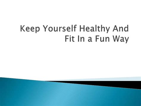 fit figures manual to keep fit and healthy keep yourself healthy and fit in a fun