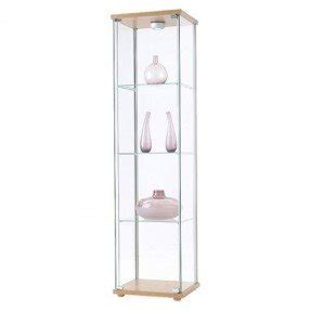 Display Cabinet For Glasses Glass Curio Cabinets Foter