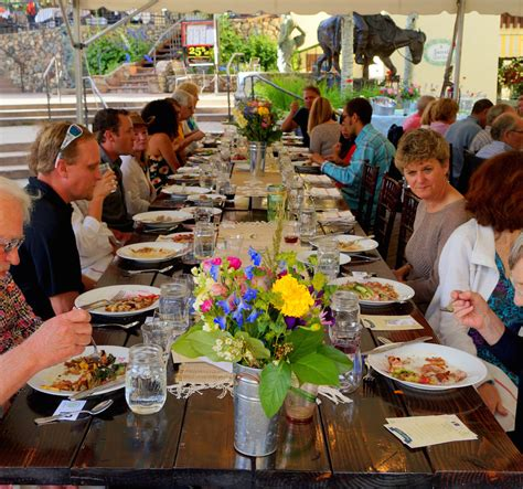 To Market Dinner For One by Vail Farmers Market Farm To Table Dinners
