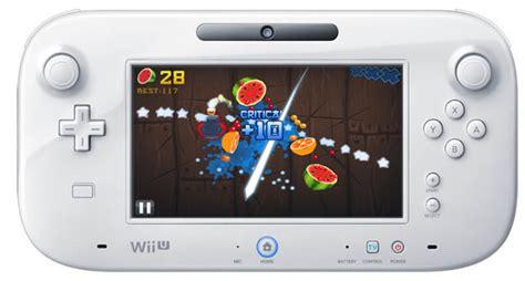 wii u fruit nintendo quiere juegos y aplicaciones de smartphones en el