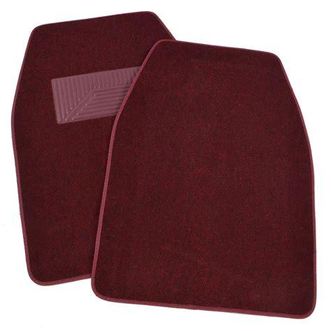 Floor Mats For Suv by 3pc Set Burgundy Heavy Duty Carpet Suv Car