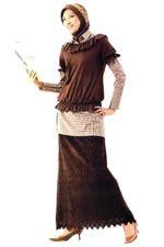 Baju Gamis Fawwaz up2date koleksi busana muslim trimoda tempat belajar badien