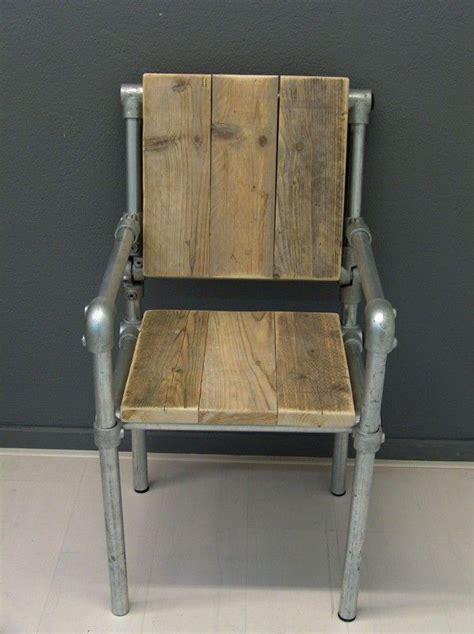 Galvanized Pipe Furniture by Chair Made Out Of Kee Kl Pipe Furniture