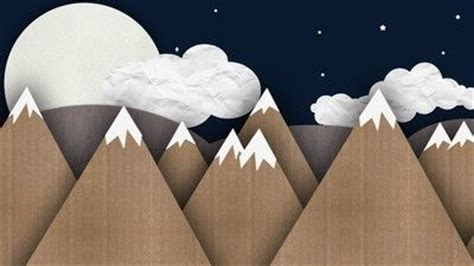 How To Make Mountains Out Of Construction Paper - paper mountains wallpaper wallpapers for all