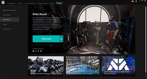 game engine mod support mod support comes to robo recall